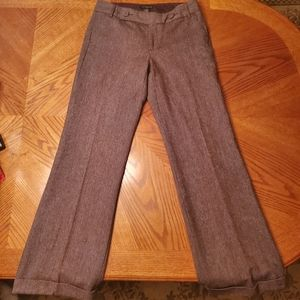 Banana Republic Wool straight legged trousers